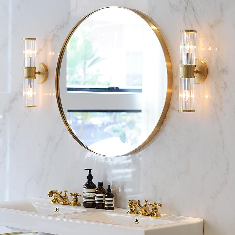 It S A Nordic Bathroom Mirror Brass, Mirror For Bathroom