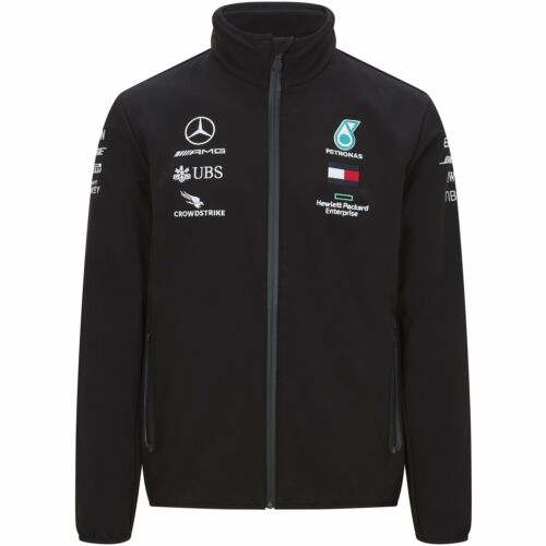 Mercedes AMG Petronas Motorsport F1 Mens Lightweight Padded Jacket 2020 L Silver