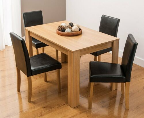 Modern Wooden Dining Table 4 Pu, Where To Find Dining Room Furniture