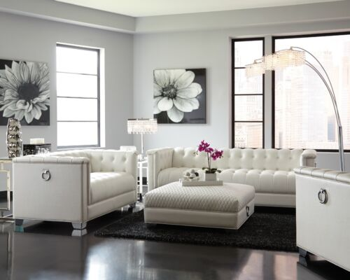 Piece Faux Leather Sofa Set With Couch, Faux Leather Living Room Set