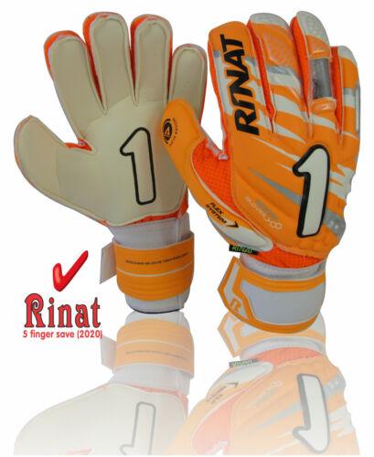 Rinat goalkeeper glove supreme spine neon green size, 8 5 finger supported
