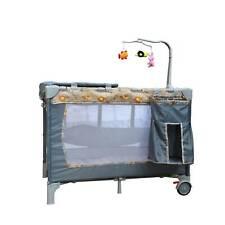 Tanzania Crib Bed Bassinet Portable 3DAYSHIP Baby Trend Nursery Center