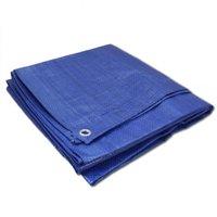 ALEKO TR12X12BL 12X12 Feet Tarp Multi-Purpose All Weather Polyethylene Tarpaulin Blue