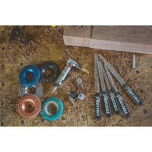 1//4 Shaft BNX-14C-CAN - Very Coarse Tungsten Carbide Coating: 1//4 Kutzall Extreme Ball Nose Burr 6.3mm Head Length 38.1mm 6.3mm Head Diameter x 1-1//2