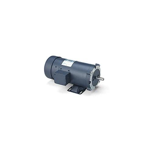 180V Voltage 56C Frame C-Face Rigid Mounting Leeson 108023.00 SCR Rated DC Motor 1HP 1750 RPM