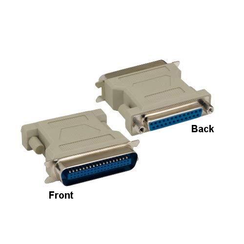 KENTEK Mini DB15 15 Pin Male to Male M//M for PC MAC VGA Mini Adapter Gender Changer Coupler D-Sub