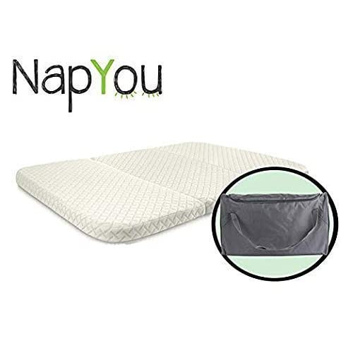 Napyou Amazon Exclusive Pack N Play Mattress Convenient Fold With