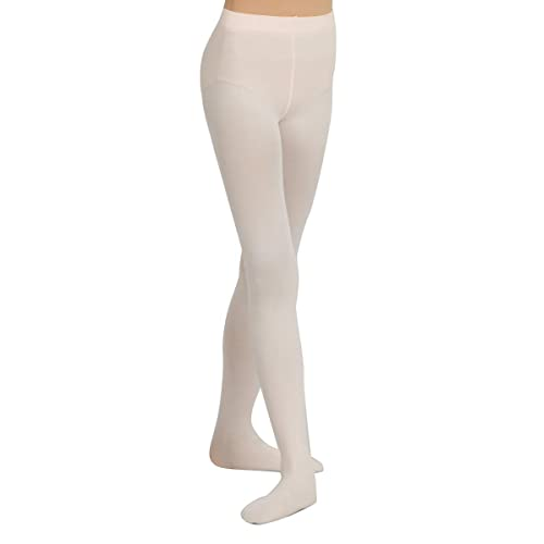 Capezio 14 Ballet Pink Women/'s Size Small Hold and Stretch Footed Tights 4-6