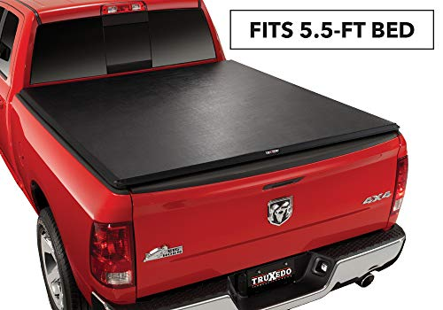 TruXedo TruXport Soft Roll Up Truck Bed Tonneau Cover 284901 fits 2019-20 Ram New Body Style 1500 w//RamBox with or without Multifunction tailgate 57 bed