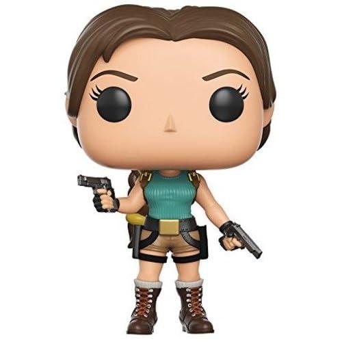 Tomb Raider Lara Croft Toy Figures 11644 Funko Rock Candy
