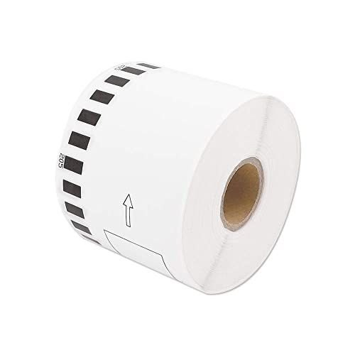 Label Orison-DK-2205 Compatible with Brother Continuous White Paper Label Roll DK2205 2.4in x 100ft 62mm x 30.4m ,1Roll Non-Detachable Cartridge
