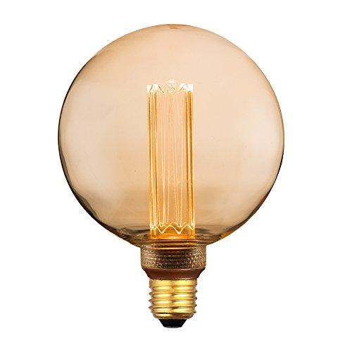 Vintage Round Led Light Bulb Globe