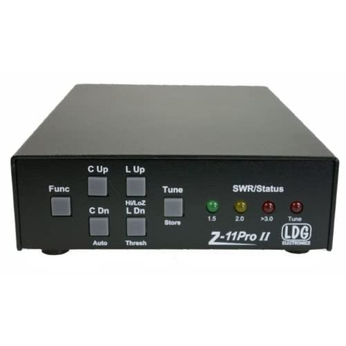LDG Electronics AT-600PROII Automatic Antenna Tuner 1.8-54 MHz 600 Watts 2 Year Warranty