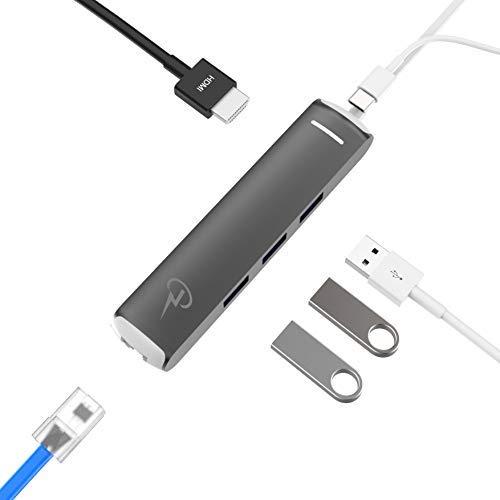 Apple MacBook Air 2018 MacBook Pro 2018//2017//2016 Certified USB C Hub HDMI 4K