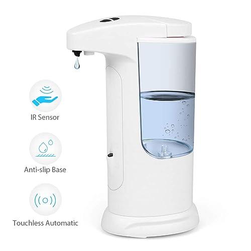 MyRealFeelings Automatic Soap Dispenser Wall Mount Touchless Hand Sanitizer Dispenser 400ml