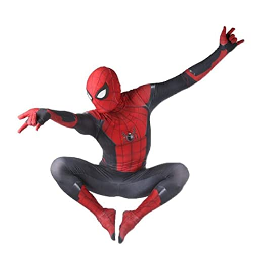 Cona Spider Man Far from Home Costumes Adult//Kids Unisex Lycra Spandex Cosplay Suits