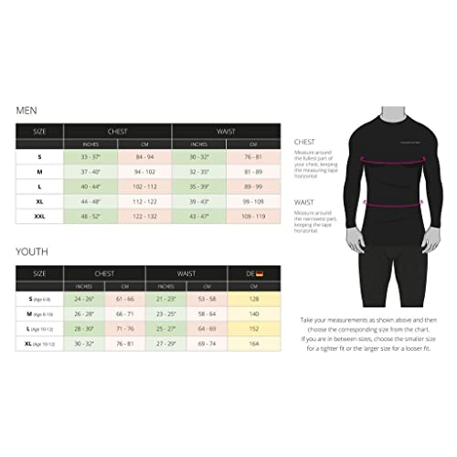 Crew//Mock Neck TCA Boys Youth /& Mens Pro Performance Compression Shirt Long Sleeve Base Layer Thermal Top