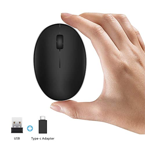 Wireless Optical Mouse Computer USB Receiver For Laptop Chromebook 2.4Ghz