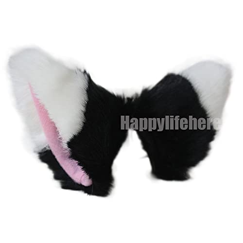 elope Red Fox Costume Ears Headband and Tail for Women