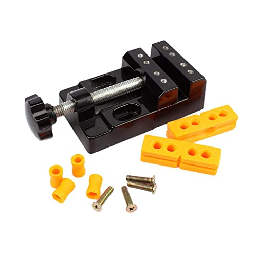 Tabletop Workbench Vise Universal Clamp On Table DIY Craft Woodworking Modeling Jewelry Clamp Vice