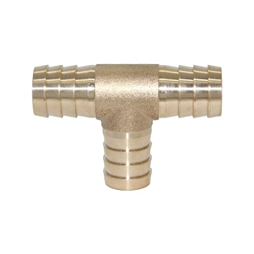 "Y3 Way 5//8/"" 16mm Brass Hose Barb Fitting Pipe Tubing Splicer Fuel Water Gas Air"