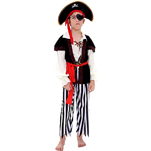 """MEDALLION PIRATE 10/"""" GUN WITH EYE PATCH// COINS EARRING FANCY DRESS"""