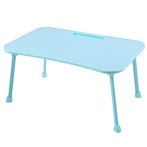 Bed Tray Laptop Desk Foldable Portable Standing Breakfast Reading Tray Holder for Couch Floor