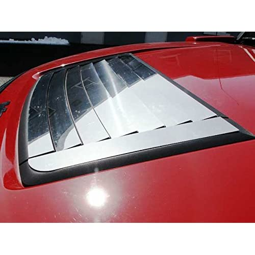Stainless Steel HOOD VENT TRIM The Chrome Warehouse Fits 2006-2009 HUMMER H3 SUV