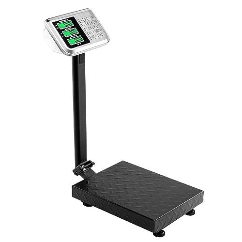 Industrial Floor Platform Postal Weighing Scales Foldable LCD 100kg//220lb UK