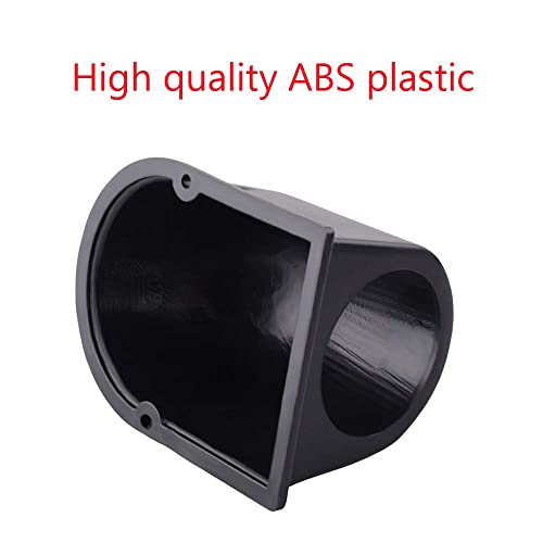 52mm ABS Plastic Fits Any Make//Model 1 GlowShift Universal Black Single Gauge Swivel Dashboard Pod Gauge to Vehicles Dash Swivels 360 Degrees 2-1//16 Mounts