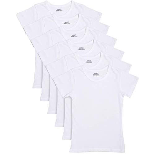 Trimfit Girls 3-Pack White Camisole Undershirt 100/% Combed Cotton