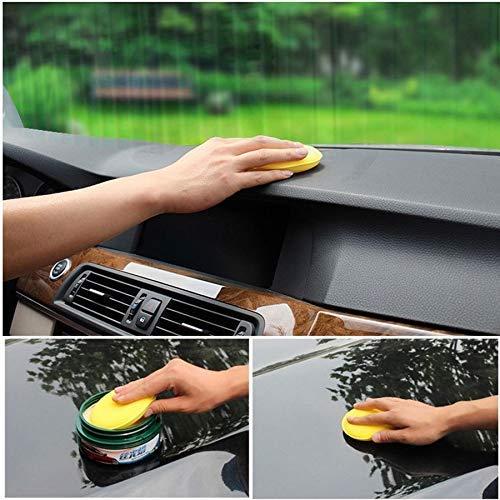 "5X 5/"" Buffing Foam Sponge Applicator Pad Cars Vehicle Glass Clean Polisher Drill"