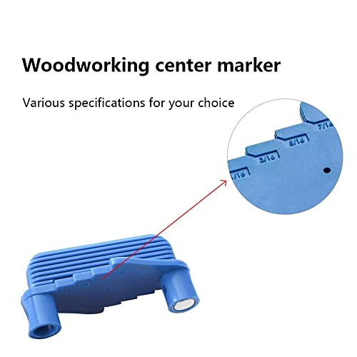 Line Scriber Offset Marking Tool,2 Pack Woodworking Marking Center Finder Tool Woodworking Precision Marking Gauge Scribers