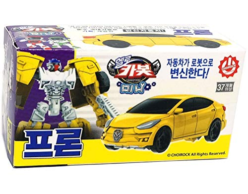 Single Product Hello CARBOT 2018 New Version Robot Dinosaur TRIKOONG Transforming Triceratops from Egg Shape Yellow Color