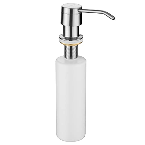 Sink Soap Dispenser Kitchen Built In Soap Dispenser Solid Brass