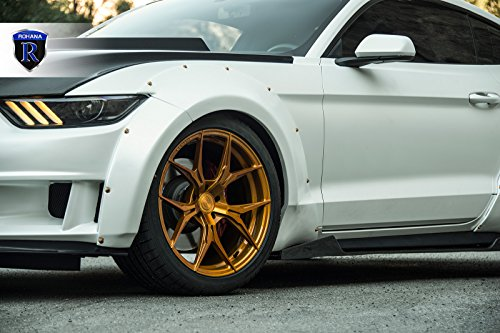 15 x 6.5 inches //5 x 100 mm, 35 mm Offset Primax 533 Machined Wheel