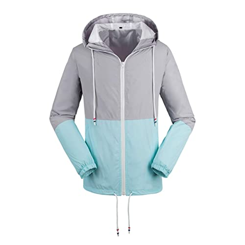 shelikes Womens Ladies Showerproof Lightweight Festival Fashion Parka Hooded Raincoat Size 8 to 20