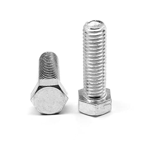 HELIFOUNER 120 Pieces 5 Sizes 304 Stainless Steel 1//4-20 x 3//8 1//2 5//8 3//4 1 UNC Thread Hex Button Head Cap Bolts Kit