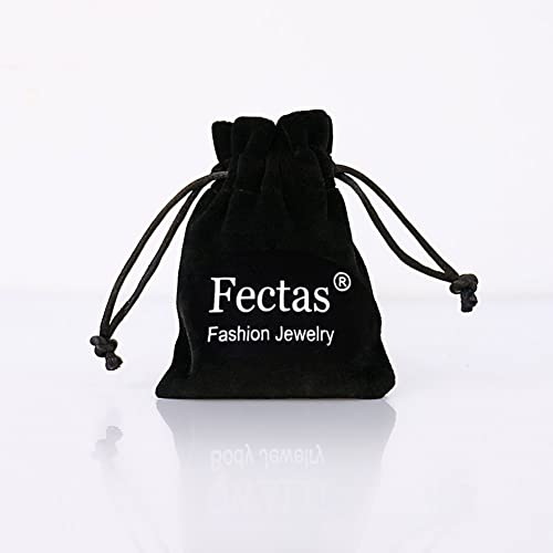 FECTAS 16G Cartilage Earring Stud Forward Helix Earrings Internal Threaded Labret Lip Medusa Monroe Piercing Ring Silver/&Rose Gold 4 Pairs