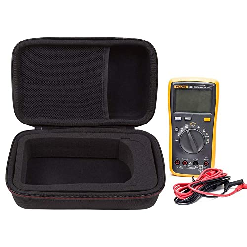 Digital Multimeter and More Khanka Hard Case Bag for Auto-Ranging Digital Multimeter Neoteck 6000 Counts//BM235// Tacklife DM01M//Fluke 101//Fluke 115//116//117//113//114//F15B+//F17B+//F18B