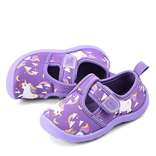 Toddler Water Shoes RANLY /& SMILY nerteo Kids from Pool to Play Sandals