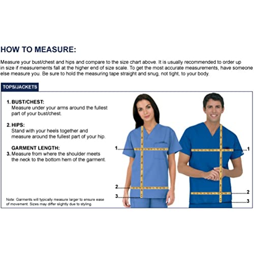 Strictly Scrubs Women/'s Four Way Stretch Scrub Set Includes V-Neck Top and Pant