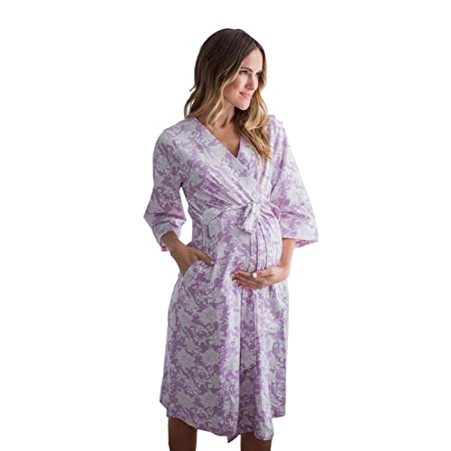 S//M pre Pregnancy 4-10, Serra Baby Be Mine Maternity Labor Delivery Nursing Robe Hospital Bag Must Have