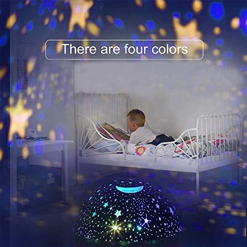 Best Gifts ATOPDREAM Amusing Moon Star Projector Light for Kids