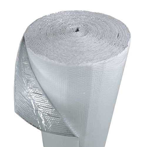 Reflective Foil Insulation Radiant Barrier Industrial Strength 4ft x 4ft SOLID