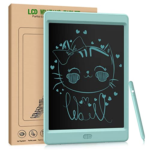 School Office Eubell 6.5 Inches LCD Writing Tablet Electronic Writing and Drawing Board Erasable Reusable Doodle Pad Tablet for Kids and Adults at Home