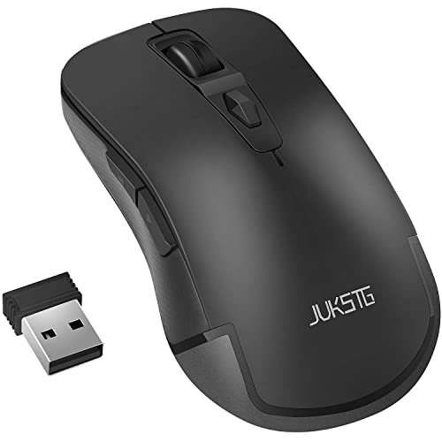 Alician Professional Wired Gaming Mouse 8 Button Optical USB Computer Mouse Silent Mouse for PC Black