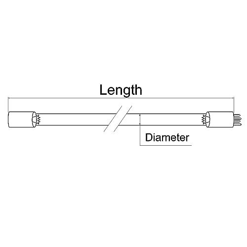 LSE Lighting Compatible UV Bulb for Lancaster Water 7-LWT-UV009 7-L6 11133-L06