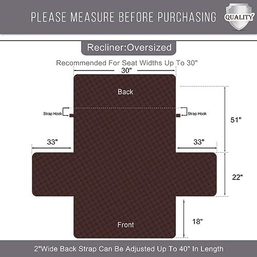 Slipcovers For Rhf Diamond Oversized Recliner Cover  Oversized Recliner Covers