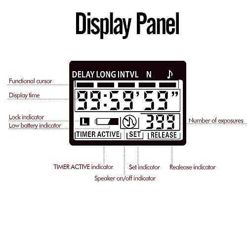 D200 D2X D300 D3 D2H D2Xs F90 D1X D1H PHOTOOLEX T710N LCD Remote ...